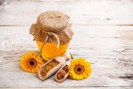 мёд и ромашки