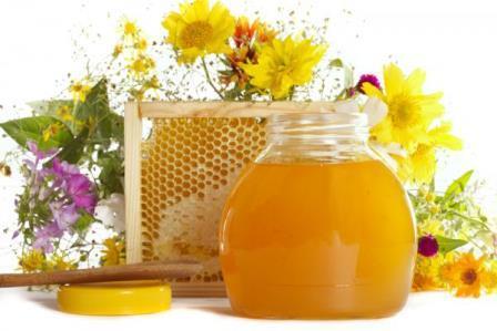 мёд соты и травы