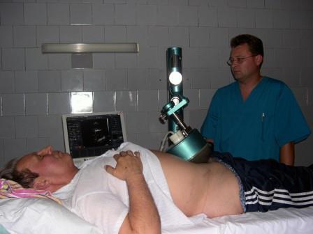пациент на физиопроцедуре