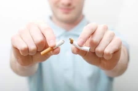 разрывание сигареты