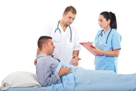 врач медсестра и пациент