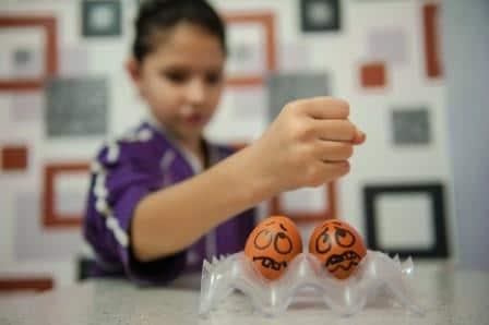 яйца и кулак