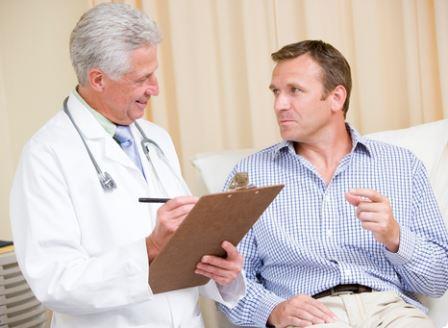 врач и мужчина