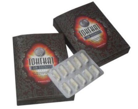 упаковка и капсулы Тонгкат Али Платинум