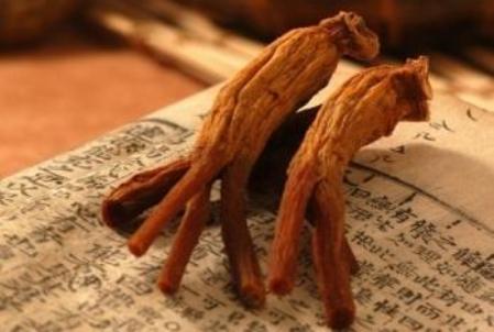 корни на книге на китайском языке