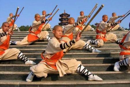 монахи Шаолинь