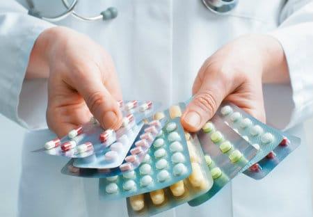 антибиотиками