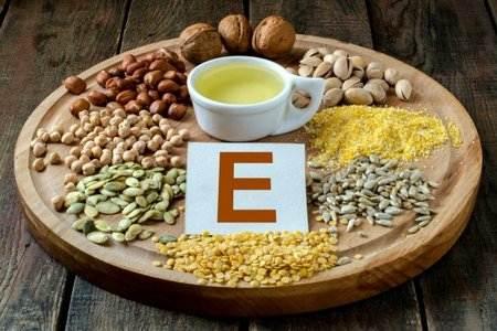 Продукты в которых есть витамин Е