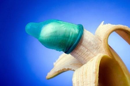 Надевания презерватива