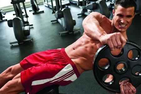 упражнение в спортзале