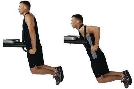 верное выполнения упражнения