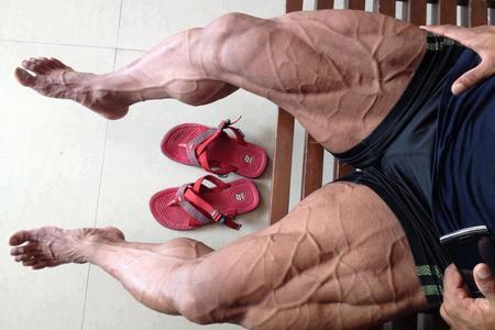 накаченные ноги