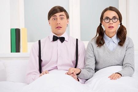 мужчина с женщиной в постели