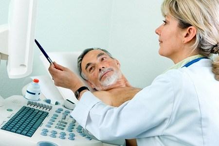 пациент на обследовании