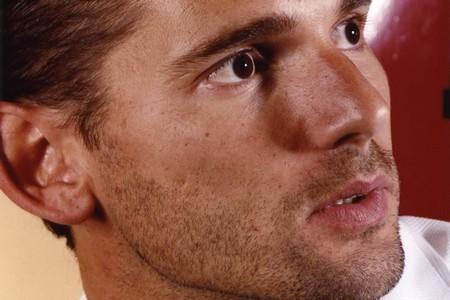 Щетина на лице мужчины