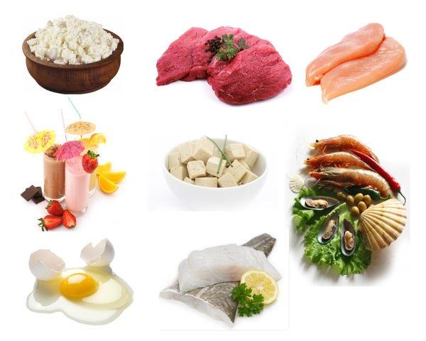 изображение продуктов богатых белком