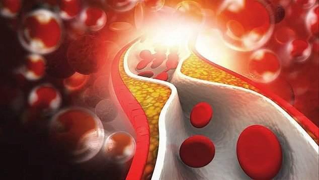 частички проходят по кровяным сосудам