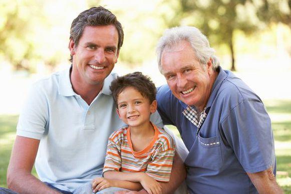 отец, сын и внук