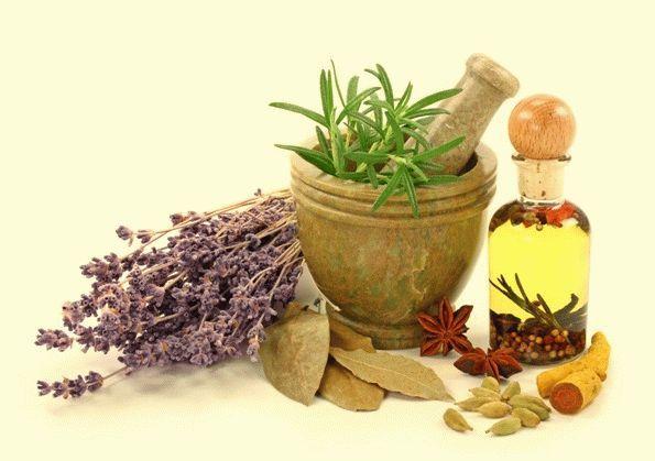 специи, масло и травы