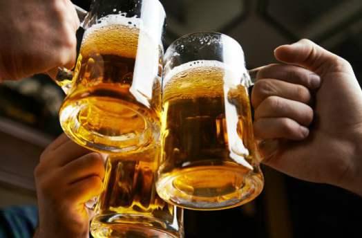 Три кружки пива