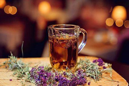чай и чебрец