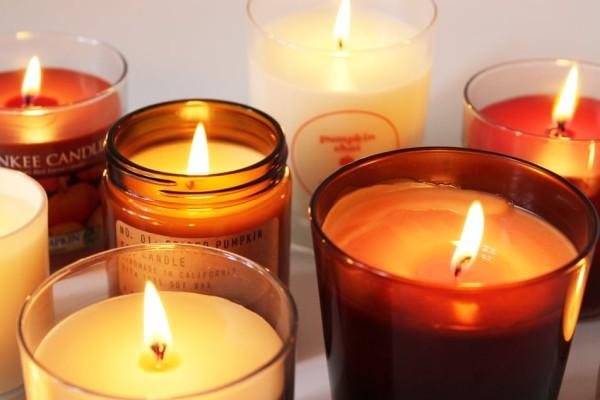 ароматизирующие свечи с запахом