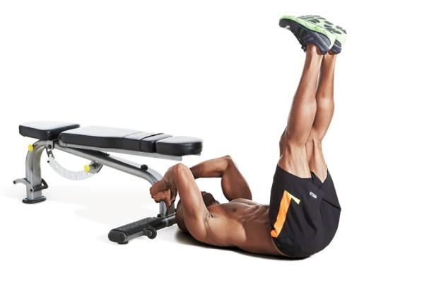тренировка мышц удержанием